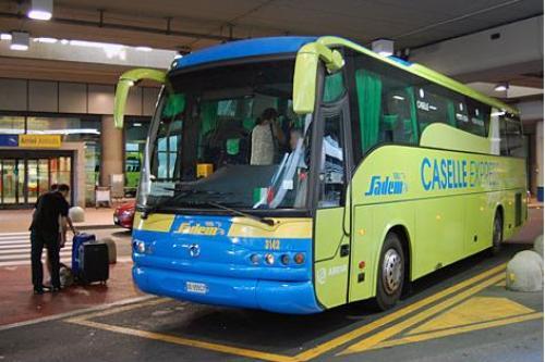 Автобус из аэропорта Турина
