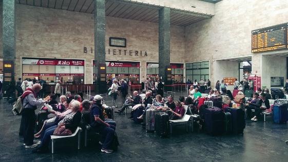 Вокзал в Италии