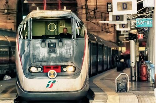 Из Турина в Милан на поезде