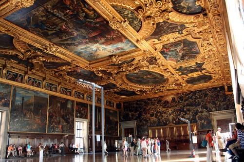Зал Большого совета во Дворце Дожей