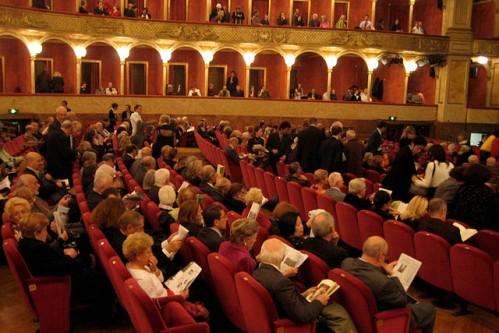 Зал римской оперы