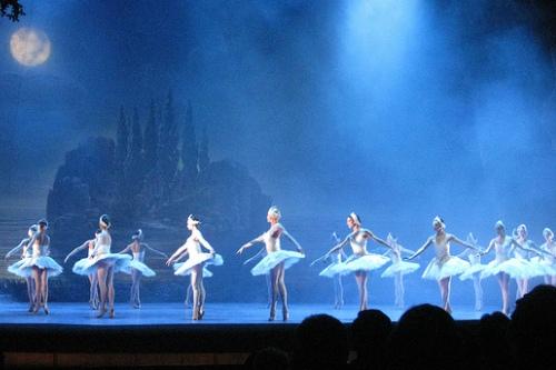 Лебединое озеро на сцене Римского оперного театра