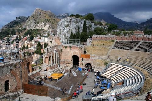 Древнегреческий театр в Таормине
