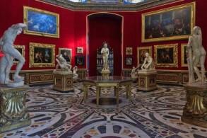 Галерея Уффици, фото, Зал Трибуна Флоренция, Италия