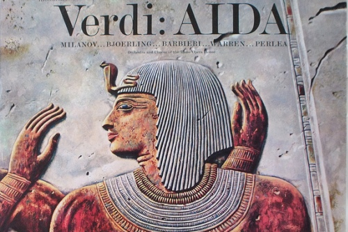 Верди, Аида, Римский оперный театр