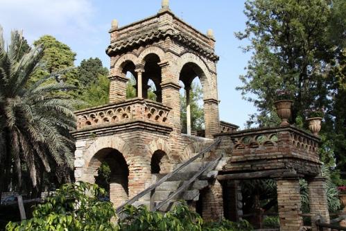 Сад Вилла Коммунале в Таормине