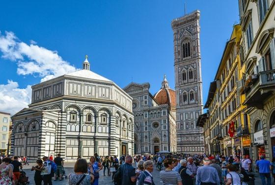Соборная площадь во Флоренции