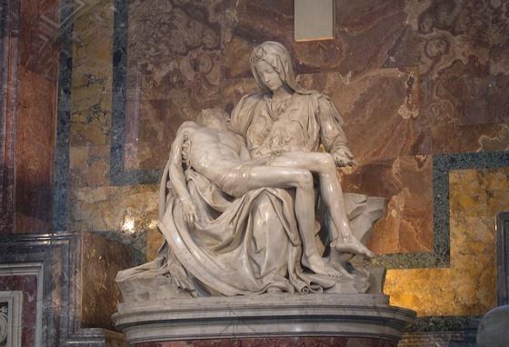 Пьета Микеланджело