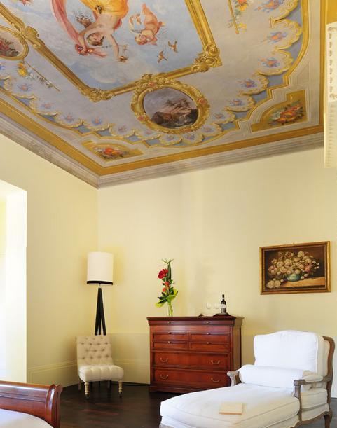 Интерьер отеля во Флоренции