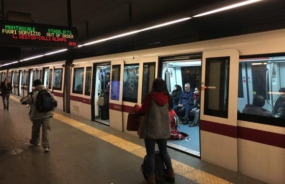 Станция метро в Риме