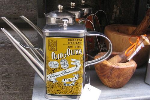 Итальянское оливковое масло в подарок
