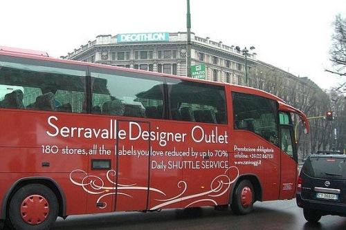 Автобус из Милана в аутлет Серравалле