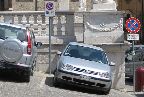 Парковочных мест в итальянских городах очень мало