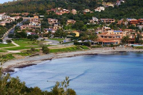 Залив Орозей на Сардинии, Италия