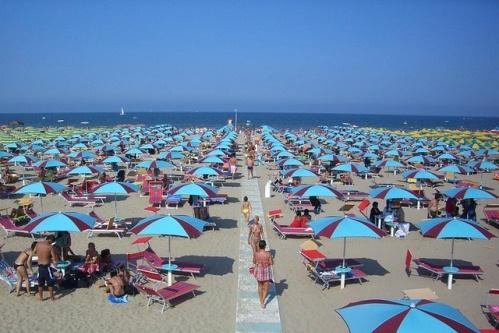 Лучшие пляжи Римини, Ривабелла