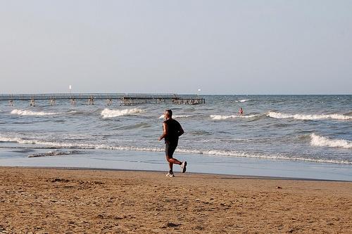 Пляж Маребелло, Римини, Италия
