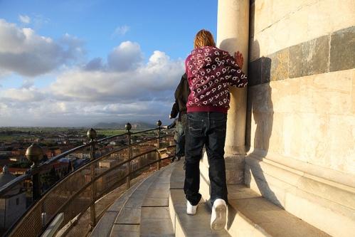 Смотровая площадка Пизанской башни