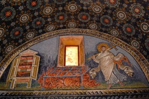 Мозаика в Мавзолее Галлы Плацидии, фото, Равенна, Эмилия Романья, Италия
