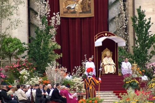 Празднование Пасхи в Риме