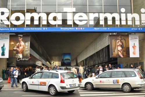 Такси до вокзала Термини в Риме