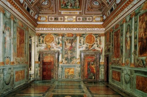 Зал Паолины в Замке Сант Анджело