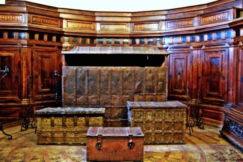 Комната для хранения казны и церковных архивов в Замке Святого Ангела, Рим