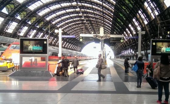 Milano Centrale hall