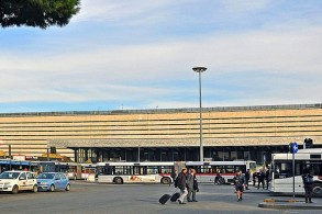 Железнодорожный вокзал в Риме, фото, Термини, Рим, Италия