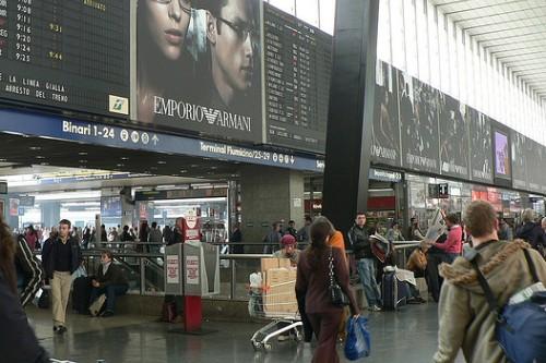 Инфраструктура вокзала Термини
