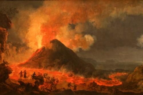 Известные извержения вулкана Везувий