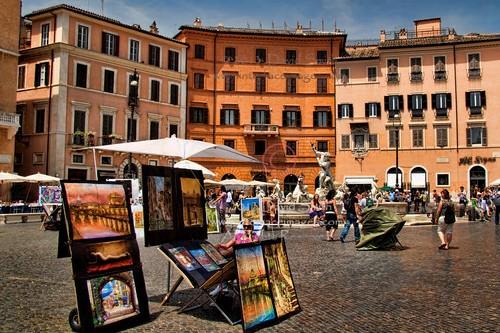 Римские площади в мае