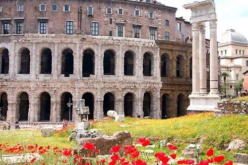 Майская погода в Риме