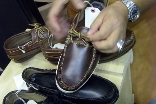 Кожаная обувь из Италии