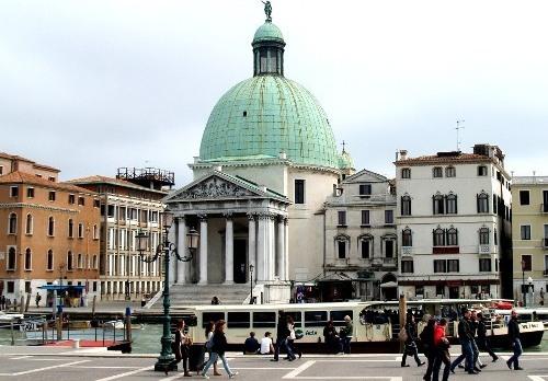 Церковь Сан-Симеоне-Пикколо в Венеции
