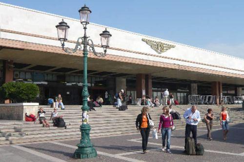 Санта-Лючия, главный жд вокзал Венеции