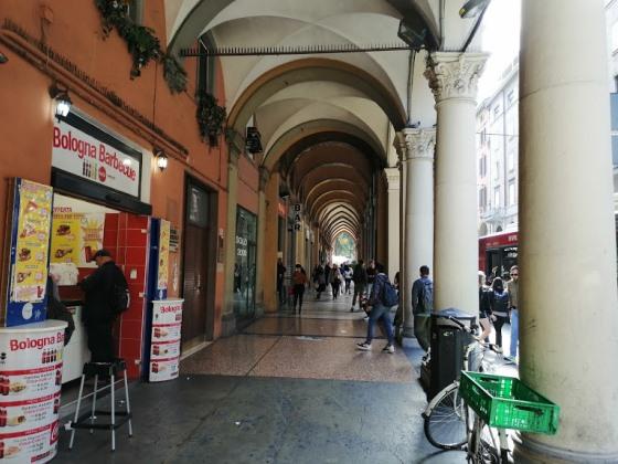 Арочные галереи в Болонье