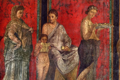 Фрески «Комедианты» в Помпеях