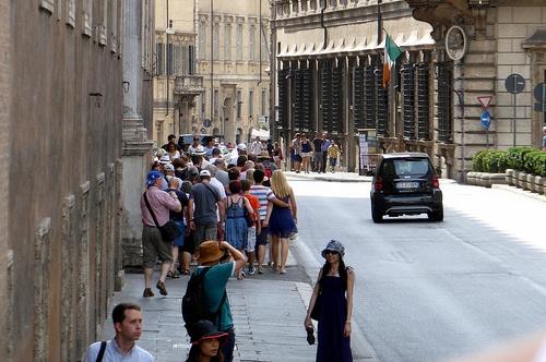 Очереди на достопримечательности в Италии в августе