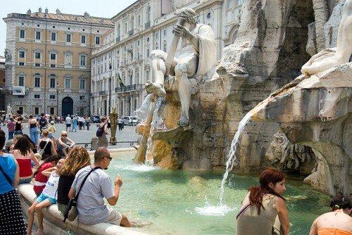Рим в августе