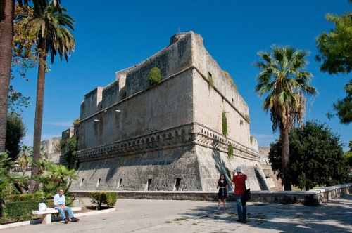 Замок Кастелло Звево в Бари