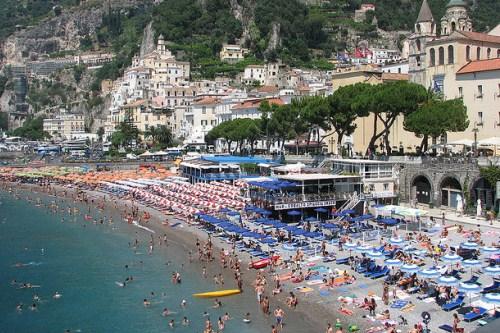 Морской курорт Амальфи, Италия