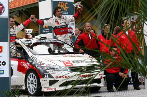 Автомобильные гонки в Сан-Ремо