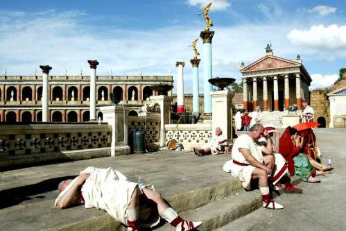 Киностудия Чинечитта в Риме