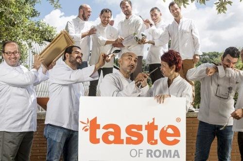 Кулинарный фестиваль в Риме