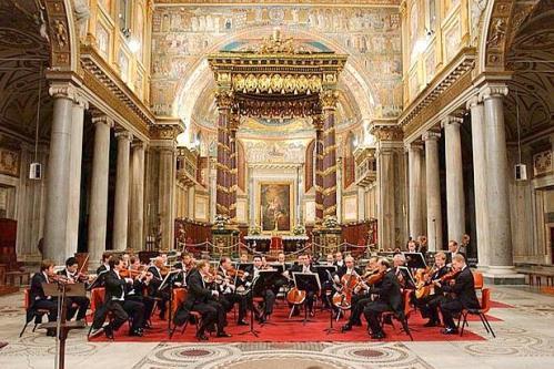 Фестиваль духовной музыки в Риме осенью