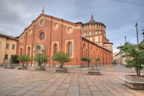 Санта-Мария-делле-Грацие в Милане