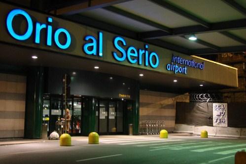Аэропорт Бергамо в Италии