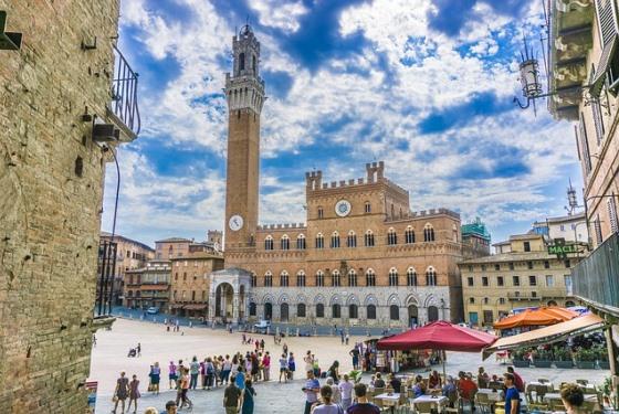 Сиена в Италии