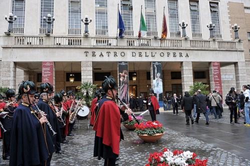 Открытие зимнего сезона в Римском оперном театре