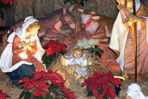 Рождественские вертепы в Риме